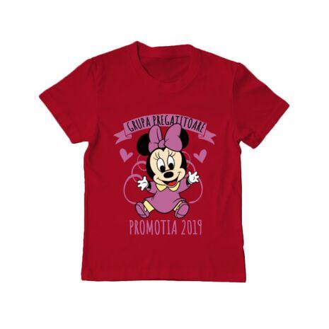 Tricou ADLER copil Absolvire Minnie Mouse Rosu
