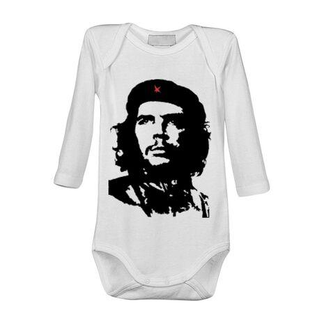 Baby body Che Guevara Alb