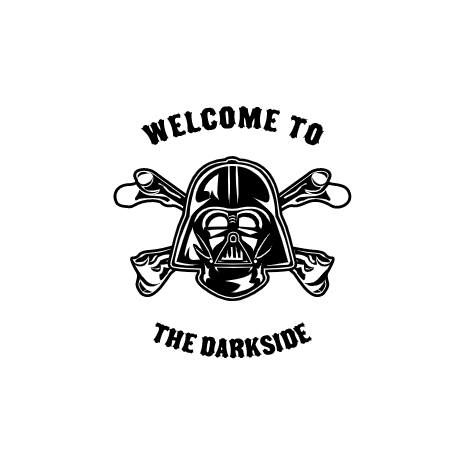 Tricou Welcome To The Darkside