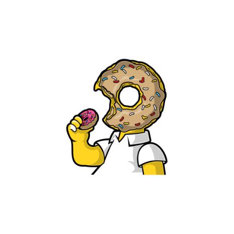 Tricou I Like Donut