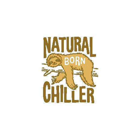 Tricou Natural born chiller