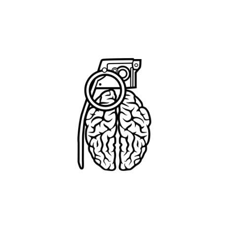 Tricou Grenade Brain
