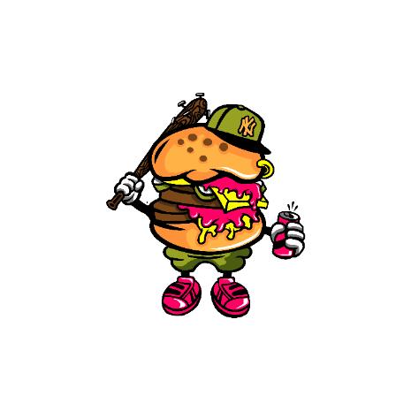 Tricou Bastard burger