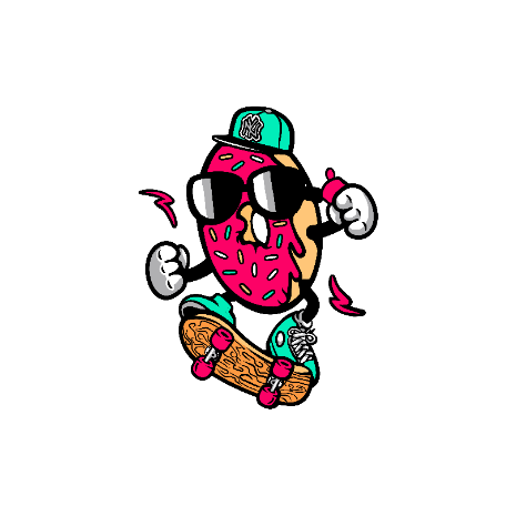 Tricou Donut skater