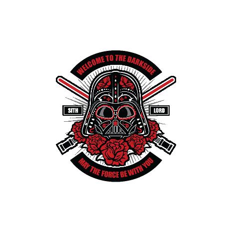 Tricou Darth Vader Sugar Skull