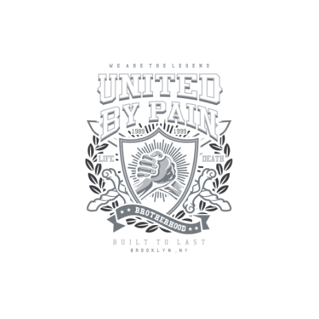 Tricou United By Pain