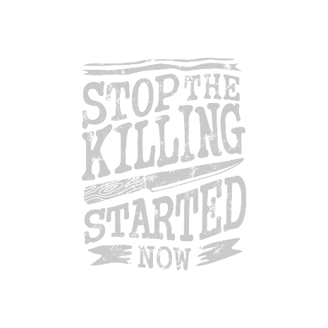 Tricou Stop The Killing Started Now
