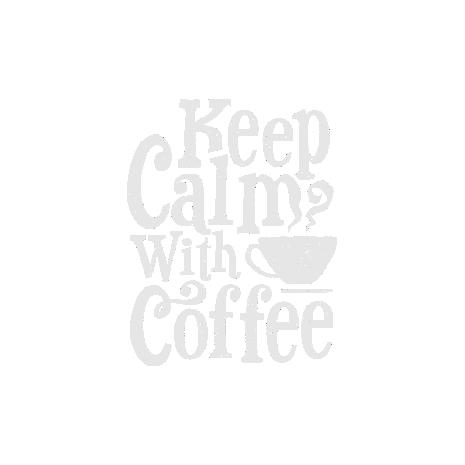 Tricou Keep Calm With Coffee