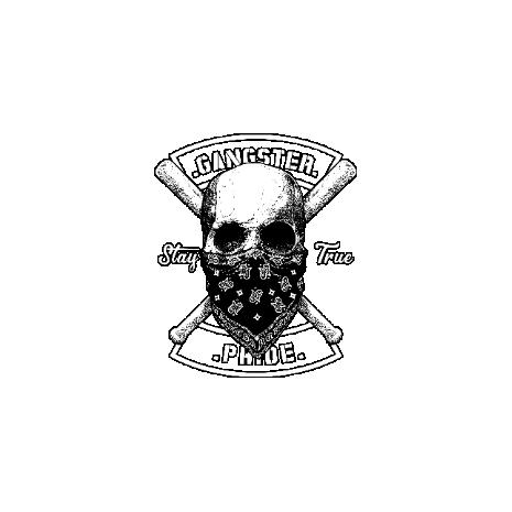 Tricou Gangster skull