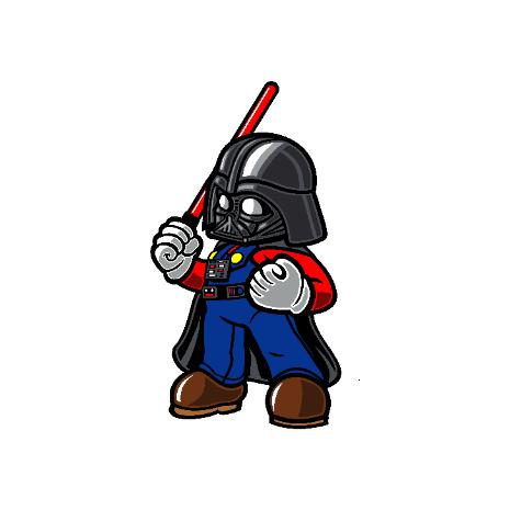 Tricou Darth plumber