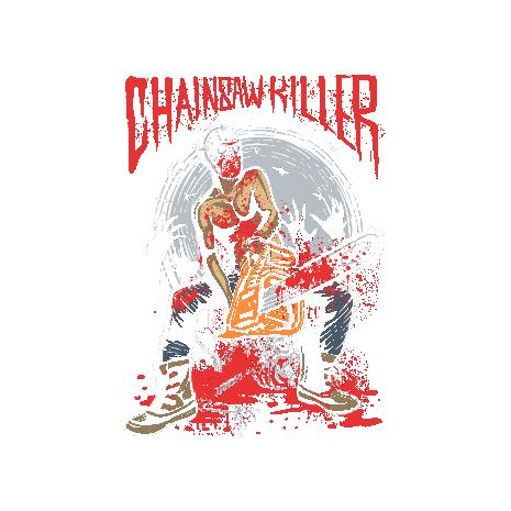 Tricou Chainsaw killer