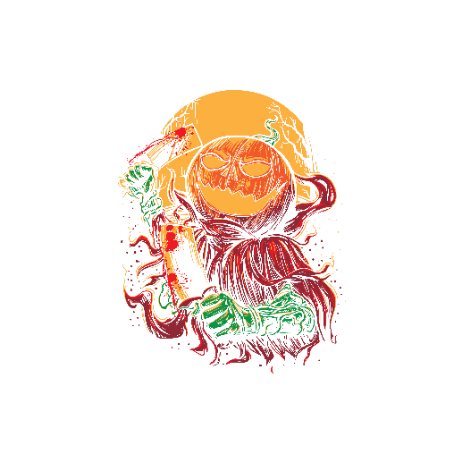 Tricou Pumpkinhead Butcher