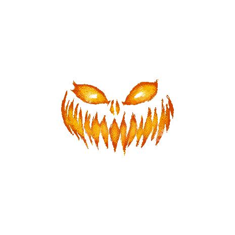 Tricou Scary pumpkin face