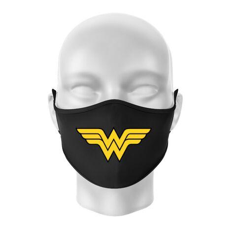 Masca personalizata reutilizabila Wonder woman Negru