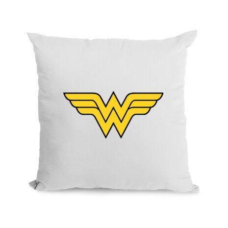 Perna personalizata Wonder woman Alb