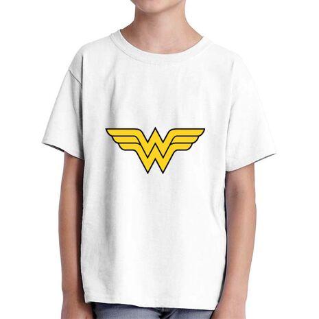 Tricou ADLER copil Wonder woman Alb