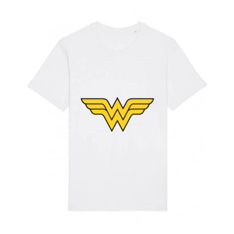 Tricou STANLEY STELLA barbat Wonder woman Alb