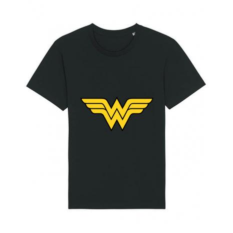 Tricou STANLEY STELLA barbat Wonder woman Negru