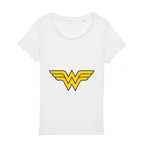Tricou STANLEY STELLA dama Wonder woman Alb