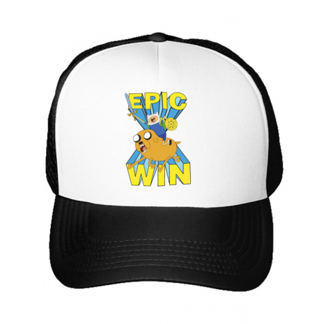 Sapca personalizata Epic win Alb