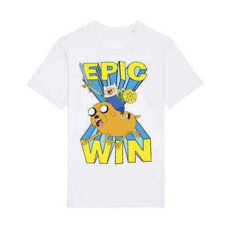 Tricou STANLEY STELLA barbat Epic win Alb