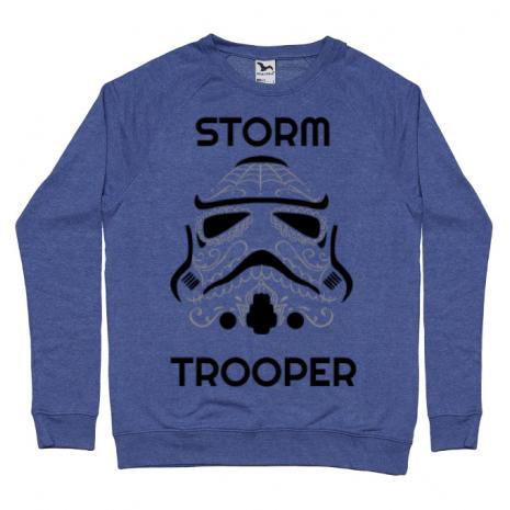 Bluza ADLER barbat Storm trooper Albastru melanj