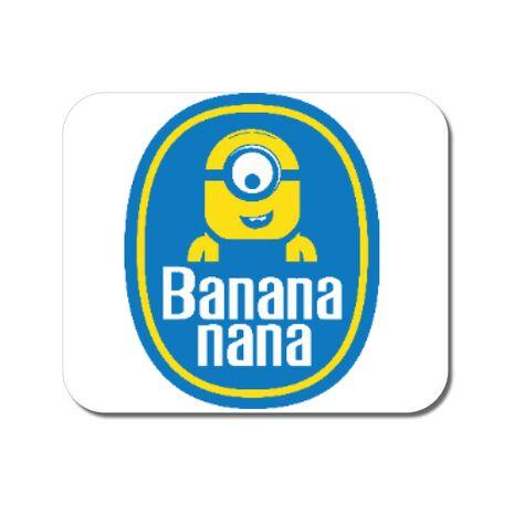 Mousepad personalizat Bananana Alb