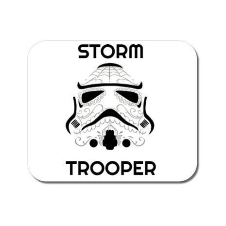 Mousepad personalizat Storm trooper Alb