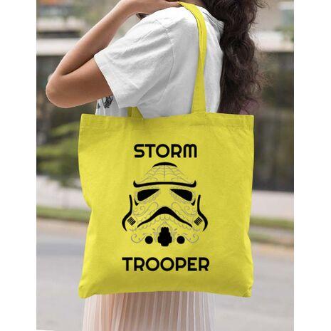 Sacosa din panza Storm trooper Galben