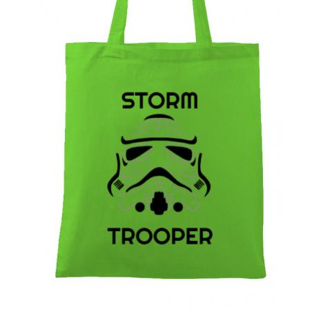 Sacosa din panza Storm trooper Verde mar