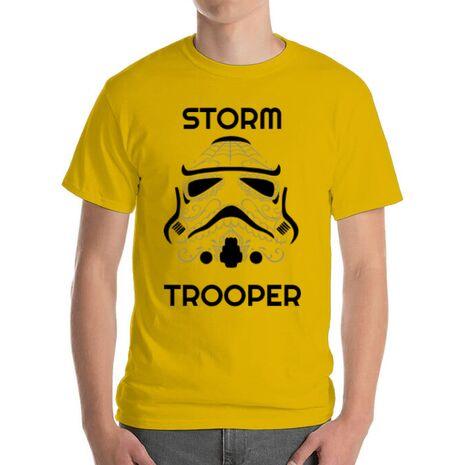 Tricou ADLER barbat Storm trooper Galben