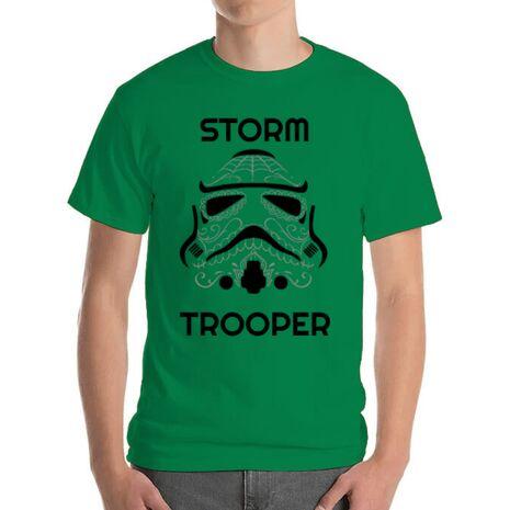 Tricou ADLER barbat Storm trooper Verde mediu
