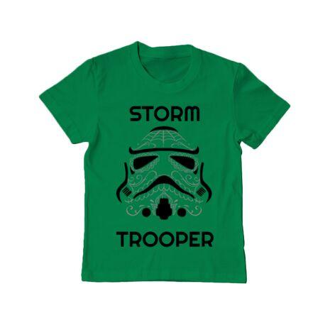 Tricou ADLER copil Storm trooper Verde mediu