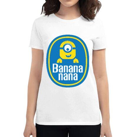 Tricou ADLER dama Bananana Alb