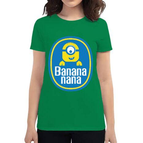 Tricou ADLER dama Bananana Verde mediu