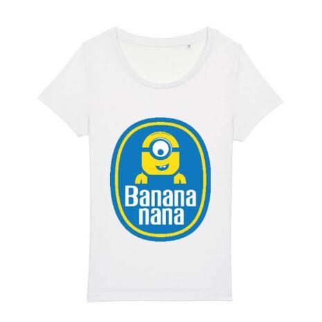 Tricou STANLEY STELLA dama Bananana Alb