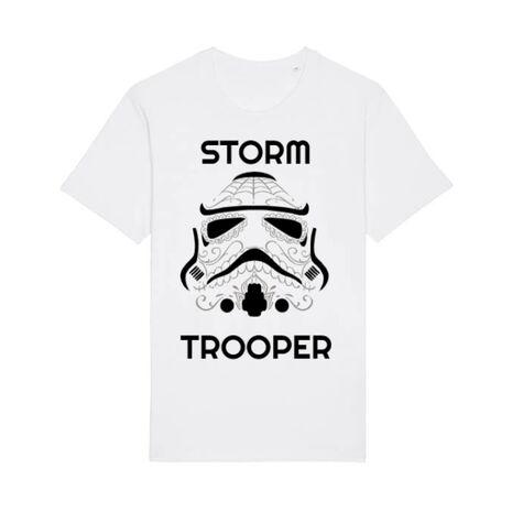 Tricou STANLEY STELLA barbat Storm trooper Alb
