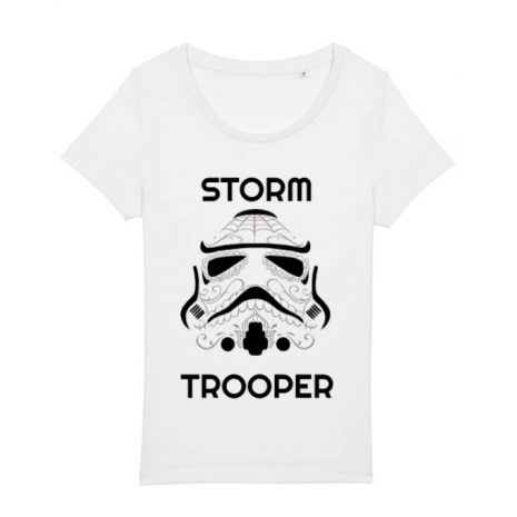 Tricou STANLEY STELLA dama Storm trooper Alb
