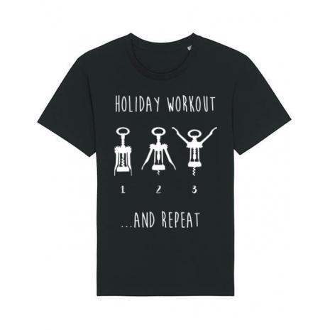 Tricou STANLEY STELLA barbat Holiday workout Negru