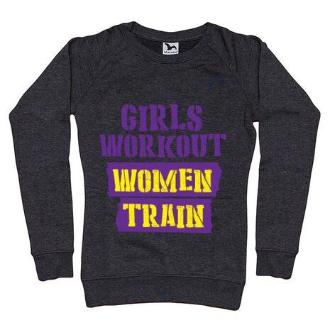 Bluza ADLER dama Women train Negru melanj