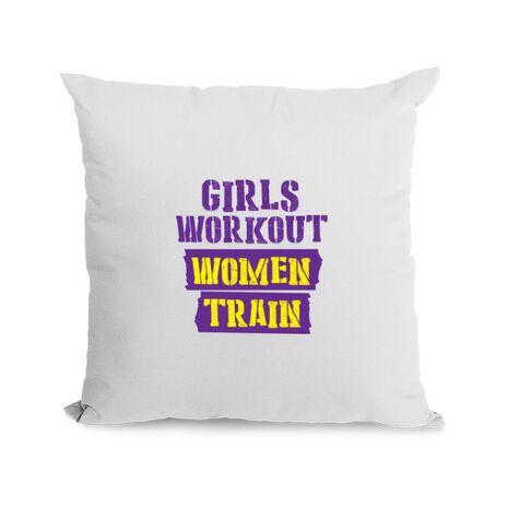 Perna personalizata Women train Alb