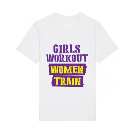 Tricou STANLEY STELLA barbat Women train Alb