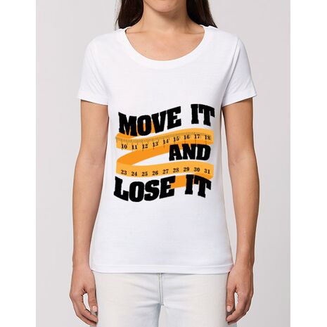 Tricou STANLEY STELLA dama Move it and lose it Alb