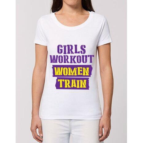 Tricou STANLEY STELLA dama Women train Alb