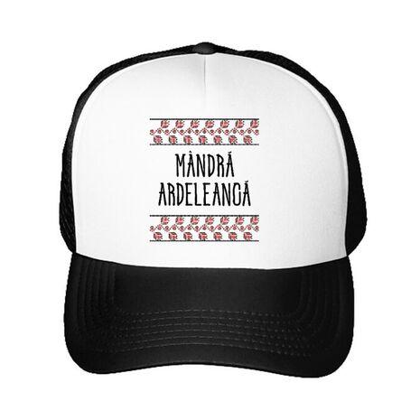 Sapca personalizata Mandra ardeleanca Alb