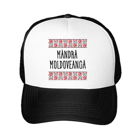 Sapca personalizata Mandra moldoveanca Alb