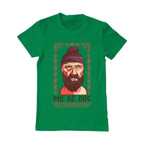 Tricou ADLER barbat Pui de dac Verde mediu