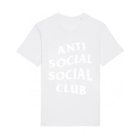 Tricou STANLEY STELLA barbat Anti social Alb