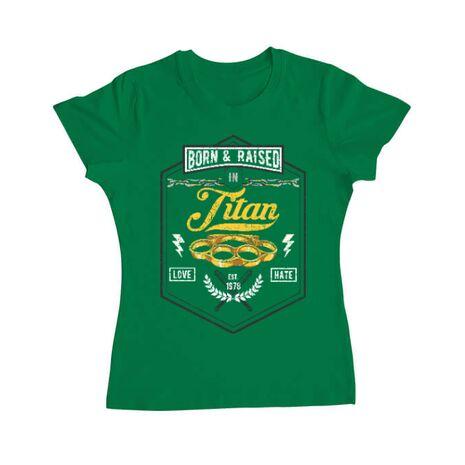 Tricou ADLER dama Titan Verde mediu