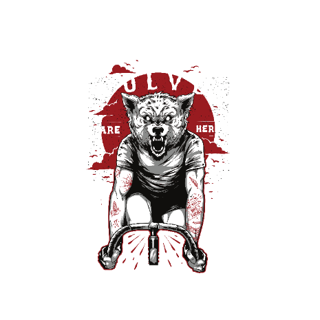Tricou The wolves are here